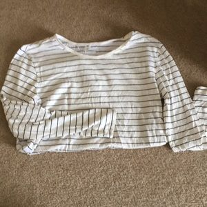 Nordstrom BP long sleeve striped tee size small